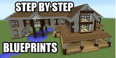 minecraft house plans step by step get step by step blueprints for this house plus a bunch