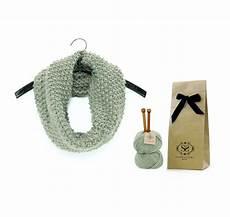 knit knit kit classic beginner snood knitting kit by stitch story