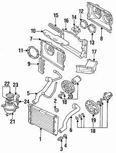 1998 vw engine diagrams 1998 volkswagen jetta engine cooling fan blade cylinder wac liter 1h0119113 faulkner