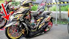 Motor Mio Sporty Modifikasi by Modifikasi Motor Ceper Bannya Sai Diluar Yamaha Mio