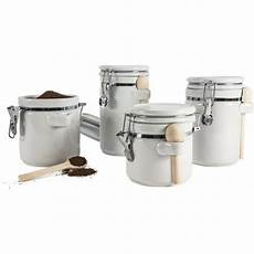kitchen ceramic canister sets 4 ceramic canister set kitchen counter storage white