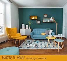 maisons du monde nuova tendenza nordica small living room