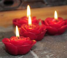 candele rosa xing fu pretty lotus shaped candles
