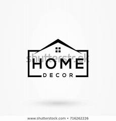 creative home decor logo detailing clean stock vector 716262226 shutterstock