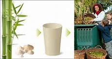 bambus geschirr teller und becher biologisch abbaubar