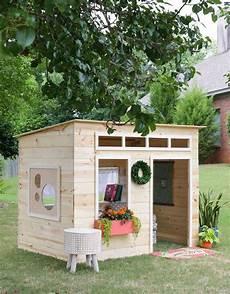 spielhaus holz indoor playhouse diy playhouse