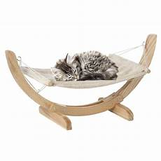 gifi panier chien hamac pour chat gris et naturel panier pour chien et chat panier et coussin animalerie gifi