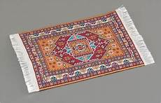 reutter miniaturen teppich mit fransen f 252 r puppenstube ebay