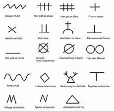 einbrecher symbole bedeutung achtung gaunerzinken das sind die geheimcodes der