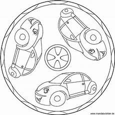 mandala ausmalbild mit autos ausmalbilder ausmalen und