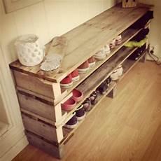 Schuhregal Selbst Bauen - ordnung in den flur bringen schuhregal selber bauen