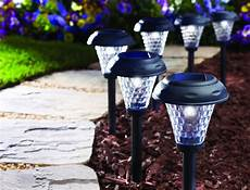 review moonrays 91381 payton solar powered plastic led path light 8 black youtube