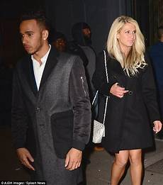 Lewis Hamilton Enjoys S Out With Mystery