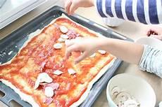 Food Kochen Backen Mit Kindern Pizza