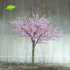 gnw bls1608001new arrival hot sale big white cherry blossom tree for wedding decoration white