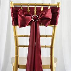 satin chair sashes bows ties wedding reception decorations wholesale ebay