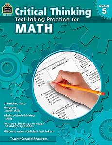 critical thinking test taking practice for math grade 5 tcr3952 teacher created resources