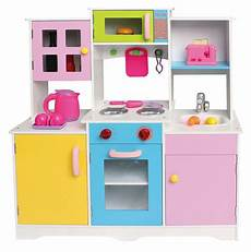 pretend kitchen furniture large boys wooden play kitchen play