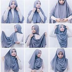 Tutorial Pashmina Buat Kondangan Jilbab Gucci