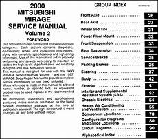 best car repair manuals 1987 mitsubishi mirage windshield wipe control 2000 mitsubishi mirage repair shop manual set original