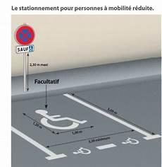 Panneau Parking Pmr Associ 233 Au Panonceau M6h Must Equipement