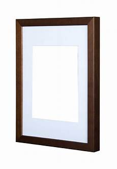 gallery wooden picture frame wenge 50x70cm with 40cm x