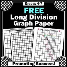 division worksheets on graph paper 6315 free division graph paper division strategies 4th 5th grade math math division