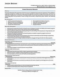 resume writing for human resources how to write a perfect human resources resume exles