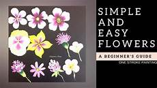 And Easy Flowers Acrylic Painting For Beginners