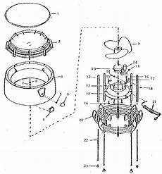 lasko fan motor wiring diagram schematic lasko model 2152 portable table top fan genuine parts