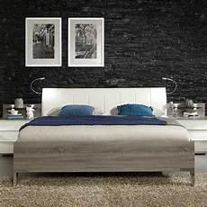 Schlafzimmer Bett Ariean In Eiche Tr 252 Ffel Pharao24 De