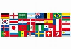 Flaggen Wm 2018 - wm flaggensets 2018 fan flaggen sets f 252 r feten und feste