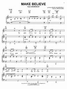 make believe sheet music by jerome kern piano vocal guitar right melody 30371