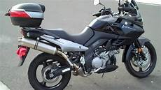 suzuki v strom 2008 suzuki v strom dl1000 with akrapovic exhaust