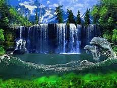 Gambar Air Terjun Bergerak Gambarbagus