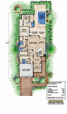 beach house plans for narrow lots beach house plan cottage home floor plan for narrow