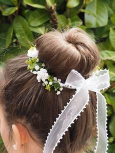 Kommunion Frisuren Für Mädchen - dekoration kommunion kr 228 nzchen haarschmuck ein