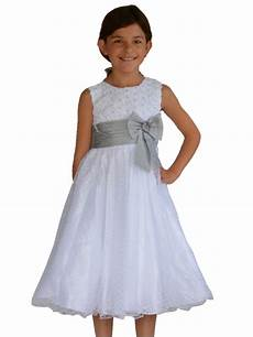 robes de mode robe blanche fille pour mariage