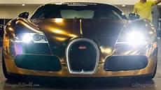 gold chrome bugatti veyron owned by flo rida