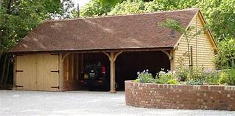 Building An Oak Framed Garage Your Own