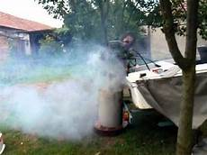 excessive oil from outboard exhaust johnson 25 hp 1972 outboard motor to much oil test avi youtube