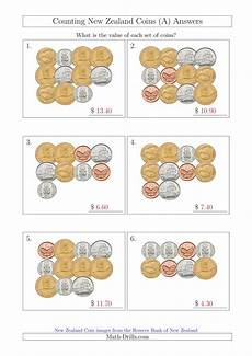 free printable money worksheets nz 2260 counting new zealand coins a