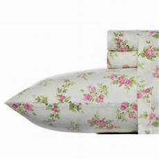 The 8 Best Flannel Sheets Laura Ashley Audrey Pink 4 Piece Full Cotton Flannel Sheet