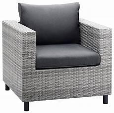 sessel polyrattan grau best loungesessel 187 bonaire 171 polyrattan inkl auflagen