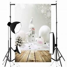 5x7ft Vinyl Blue Snowman Photography Backdrop by 5x7ft Vinyl Winter Photography Backdrop Snowman Snowball