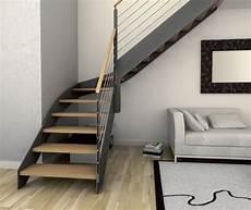 escalier moderne quart tournant escalier quart tournant structure en bois structure en
