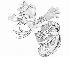 Sonic The Hedgehog Jet Coloring Pages Sonic The Hedgehog Character Coloring Pages Coloring