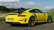 2019 porsche 911 gt3 rs weissach package racing yellow