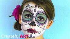 Pretty Sugar Skull Paint For Day Of The Dead