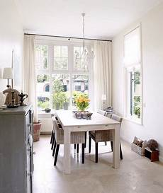 bright white 32 elegant ideas for dining rooms real simple